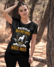 Rich And Famous WIth White Boxer Ladies T-Shirt apparel-ladies-t-shirt-lifestyle-06