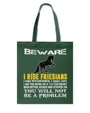FRIESIAN HORSE Tote Bag thumbnail