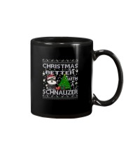 Christmas Is Better With A Schnauzer Mug thumbnail