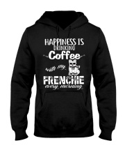 DRINK COFFEE WITH MY FRENCHIE Hooded Sweatshirt thumbnail