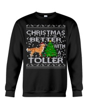 Christmas Is Better With A Toller Crewneck Sweatshirt tile