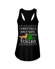 Christmas Is Better With A Toller Ladies Flowy Tank thumbnail