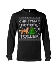 Christmas Is Better With A Toller Long Sleeve Tee thumbnail