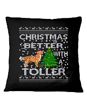 Christmas Is Better With A Toller Square Pillowcase thumbnail