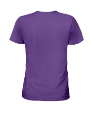 Happier Person Puggle Ladies T-Shirt back