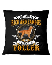Rich And Famous WIth Toller Square Pillowcase thumbnail