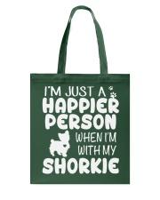 Happier Person Shorkie Tote Bag thumbnail