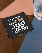 Crazy Jug Lady Square Coaster aos-homeandliving-coasters-square-lifestyle-01