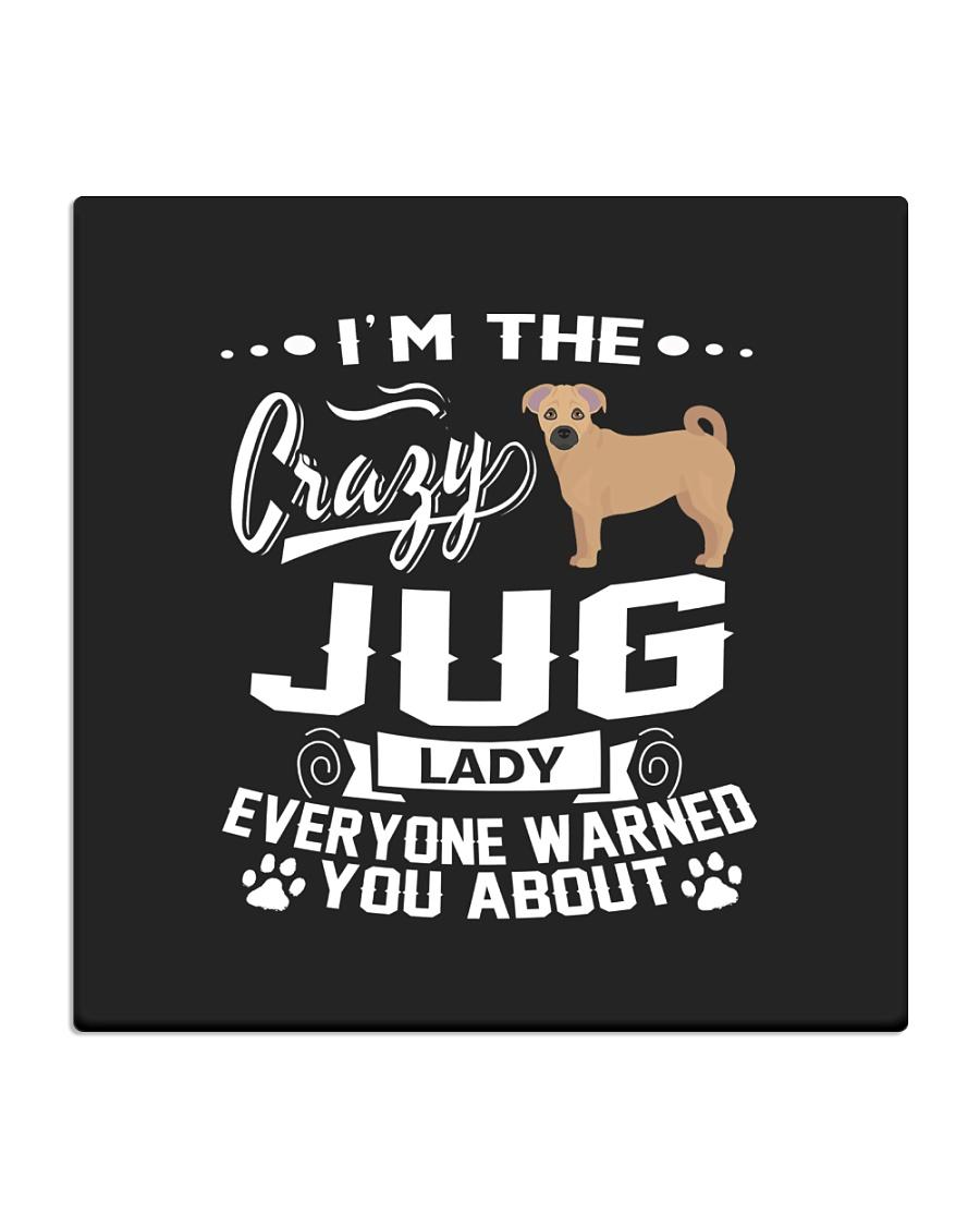 Crazy Jug Lady Square Coaster