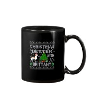 Christmas Is Better With A Brittany Mug thumbnail