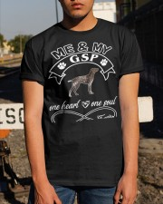 German Shorthaired Pointer GSP Is In My Heart  Classic T-Shirt apparel-classic-tshirt-lifestyle-29