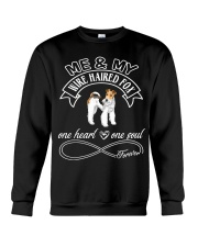 Wire Haired Fox Is In My Heart And Soul Crewneck Sweatshirt thumbnail