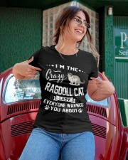 Crazy Ragdoll Cat Lady Ladies T-Shirt apparel-ladies-t-shirt-lifestyle-01