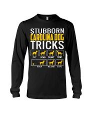 Stubborn Carolina Dog Tricks Long Sleeve Tee thumbnail