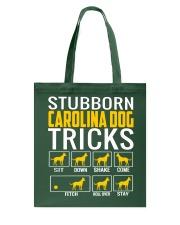 Stubborn Carolina Dog Tricks Tote Bag thumbnail