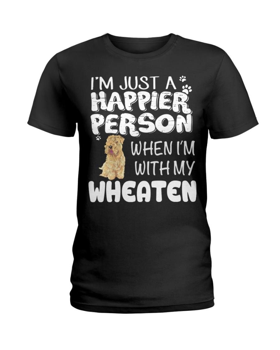 Soft-Coated Wheaten Terrier Dog  Ladies T-Shirt
