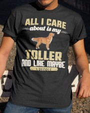All I Care About Is My Toller Classic T-Shirt apparel-classic-tshirt-lifestyle-28