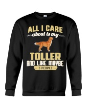 All I Care About Is My Toller Crewneck Sweatshirt thumbnail