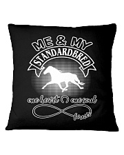 Standardbred Is In My Heart And Soul Square Pillowcase thumbnail