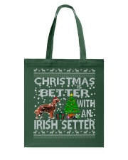 Christmas Is Better With An Irish Setter Tote Bag thumbnail