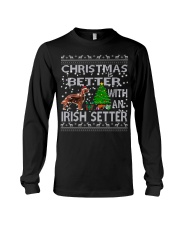 Christmas Is Better With An Irish Setter Long Sleeve Tee thumbnail