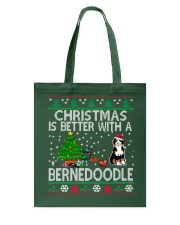 Christmas Is Better With A Bernedoodle Tote Bag thumbnail