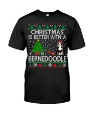 Christmas Is Better With A Bernedoodle Classic T-Shirt thumbnail