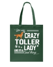 CRAZY TOLLER  LADY Tote Bag thumbnail