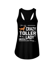 CRAZY TOLLER  LADY Ladies Flowy Tank thumbnail