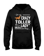 CRAZY TOLLER  LADY Hooded Sweatshirt thumbnail