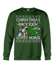 Christmas Is Better WIth A Gypsy Horse Crewneck Sweatshirt front
