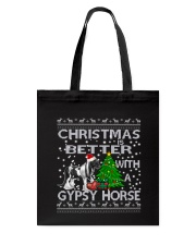 Christmas Is Better WIth A Gypsy Horse Tote Bag thumbnail