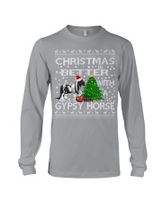 Christmas Is Better WIth A Gypsy Horse Long Sleeve Tee thumbnail