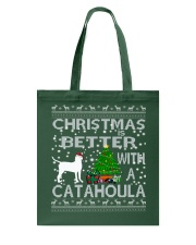 Christmas Is Better With A Catahoula Tote Bag thumbnail