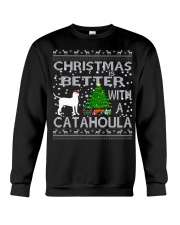 Christmas Is Better With A Catahoula Crewneck Sweatshirt tile