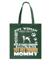 Toy Fox Terrier Mommy Tote Bag thumbnail