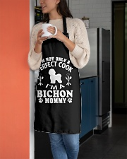 Perfect Cook And Bichon Frise Mom Apron aos-apron-27x30-lifestyle-front-05