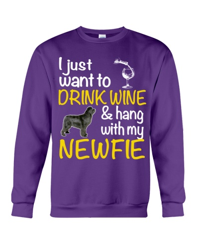 Drink Wine With Newfie