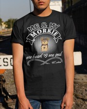 Morkie Is In My Heart And Soul Classic T-Shirt apparel-classic-tshirt-lifestyle-29