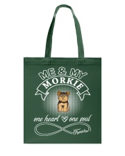 Morkie Is In My Heart And Soul Tote Bag thumbnail