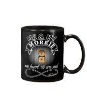 Morkie Is In My Heart And Soul Mug thumbnail