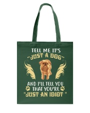 It Is Just A Brussels Griffon Tote Bag thumbnail