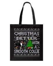 Christmas Is Better With A Smooth Collie Tote Bag thumbnail