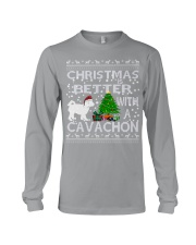 Christmas Is Better With A Cavachon Long Sleeve Tee thumbnail
