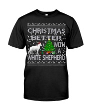Christmas Is Better With A White Shepherd Classic T-Shirt thumbnail