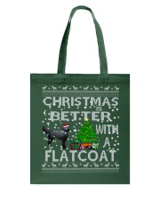 Christmas Is Better With A Flatcoat Tote Bag thumbnail