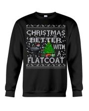 Christmas Is Better With A Flatcoat Crewneck Sweatshirt tile