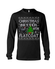 Christmas Is Better With A Flatcoat Long Sleeve Tee thumbnail