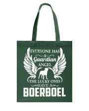 My Guardian Angel Is A Boerboel Tote Bag thumbnail