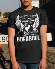 My Guardian Angel Is A Boerboel Classic T-Shirt apparel-classic-tshirt-lifestyle-29